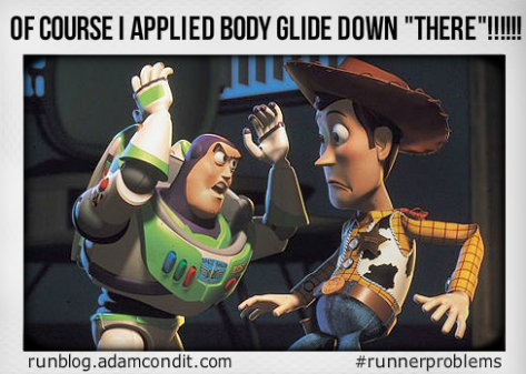 Toy Story Running Body Glide