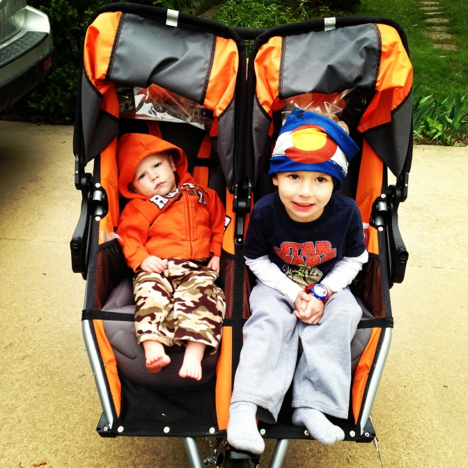 Photo Friday: Double Stroller
